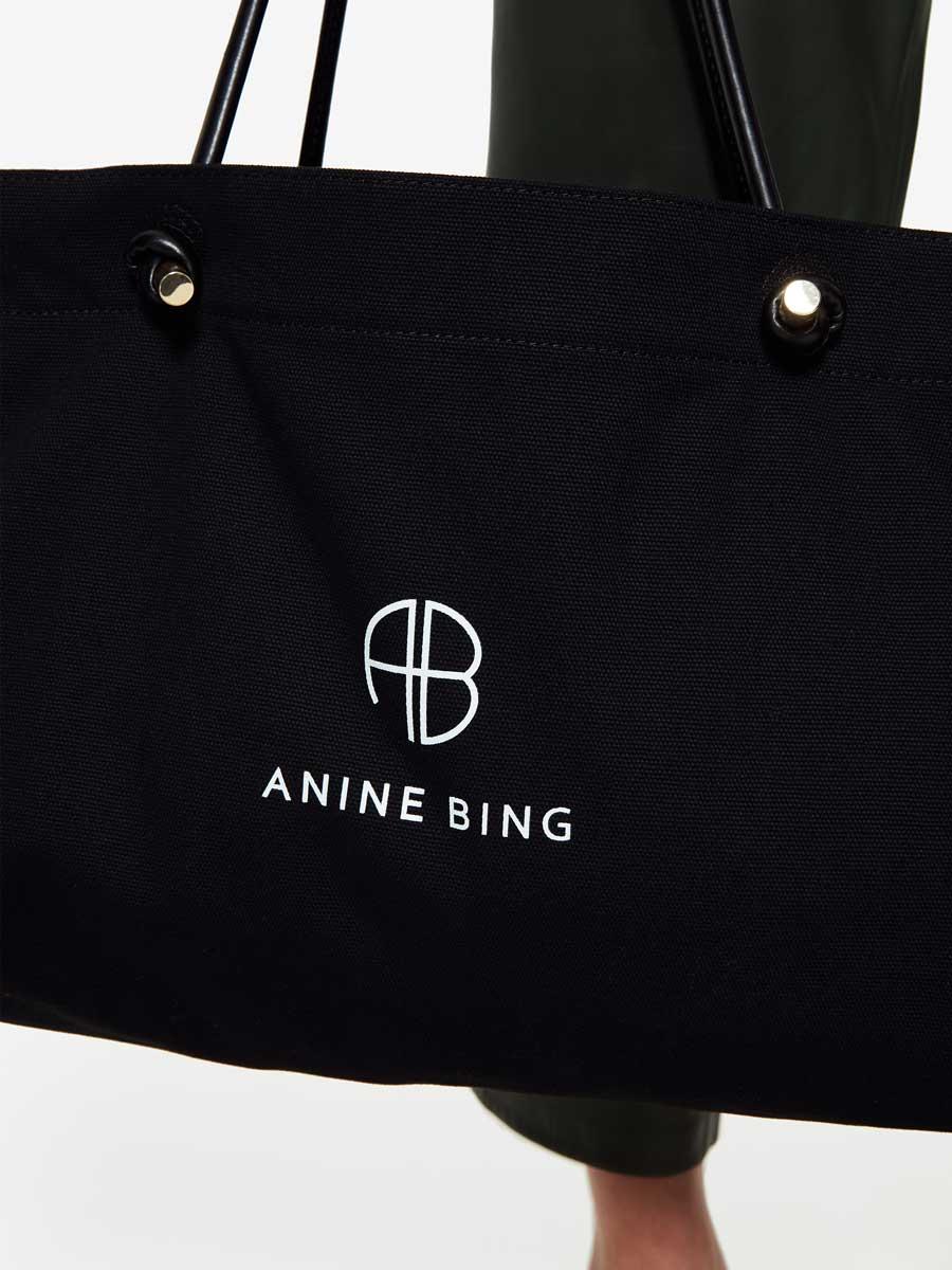 Shopper MEDIUM SAFFRON BAG von ANINE BING