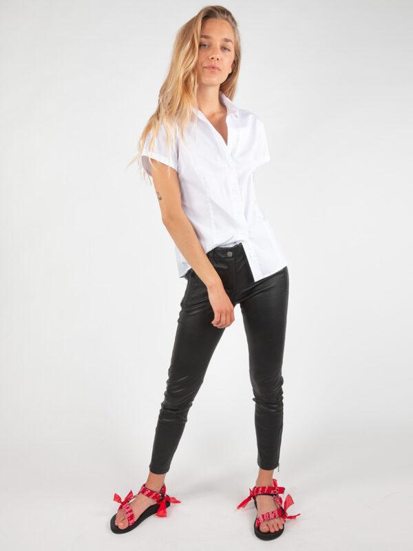 Bluse mit Hemdkragen von REYER