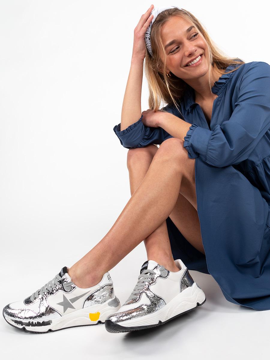 Sneaker RUNNING SOLE UPPER PRINT STAR von Golden Goose