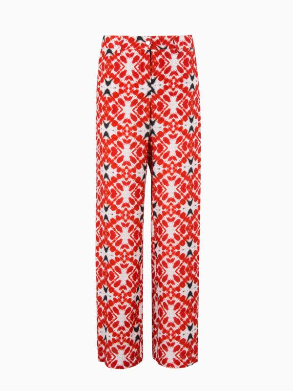 Wide-Leg Hose mit Print von 813OTTOTREDICI
