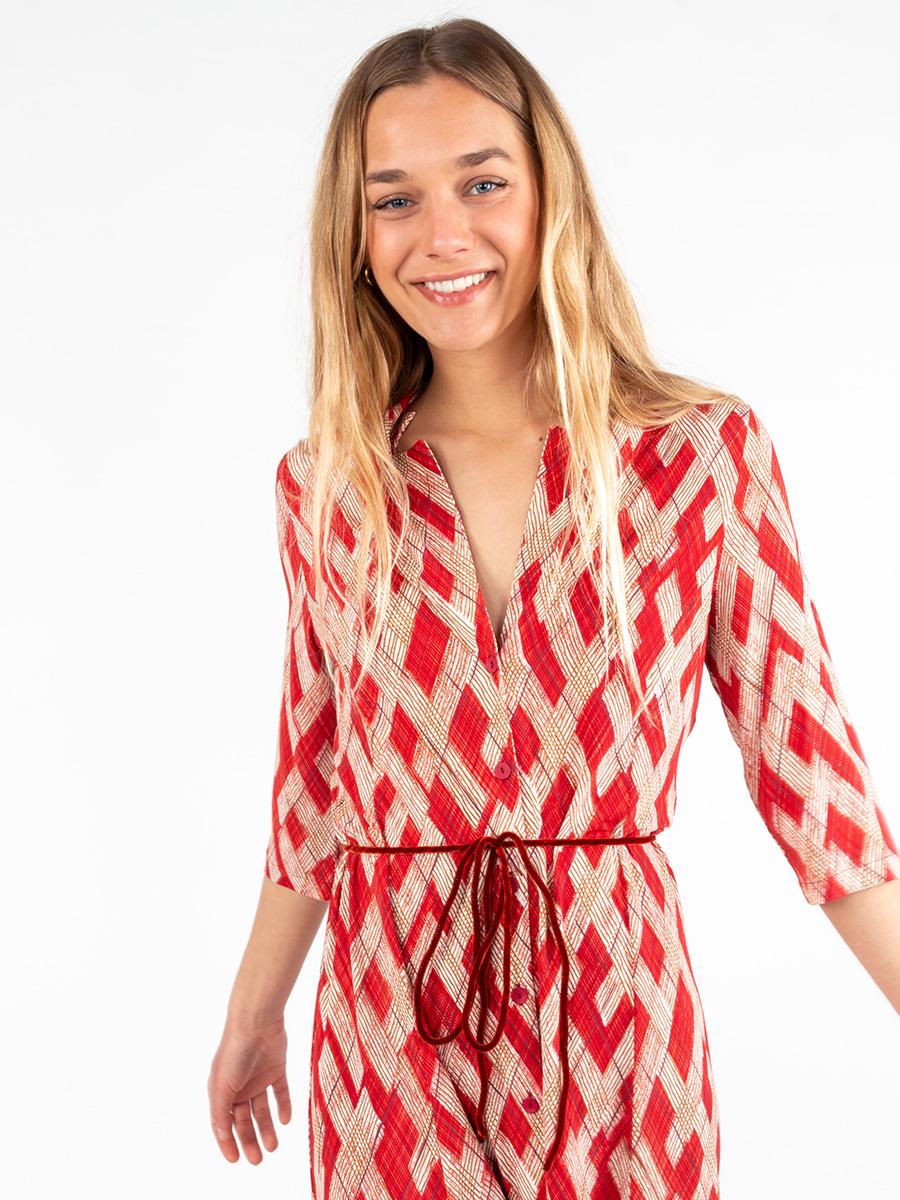Midi-Kleid ROMBOS von Siyu