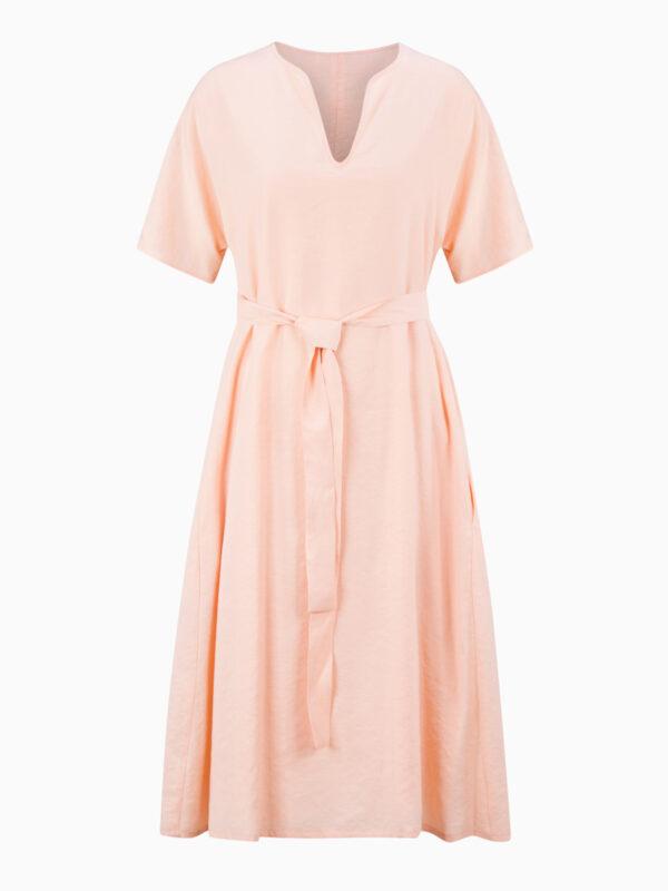 Midi-Kleid mit V-Ausschnitt von WRIGHT