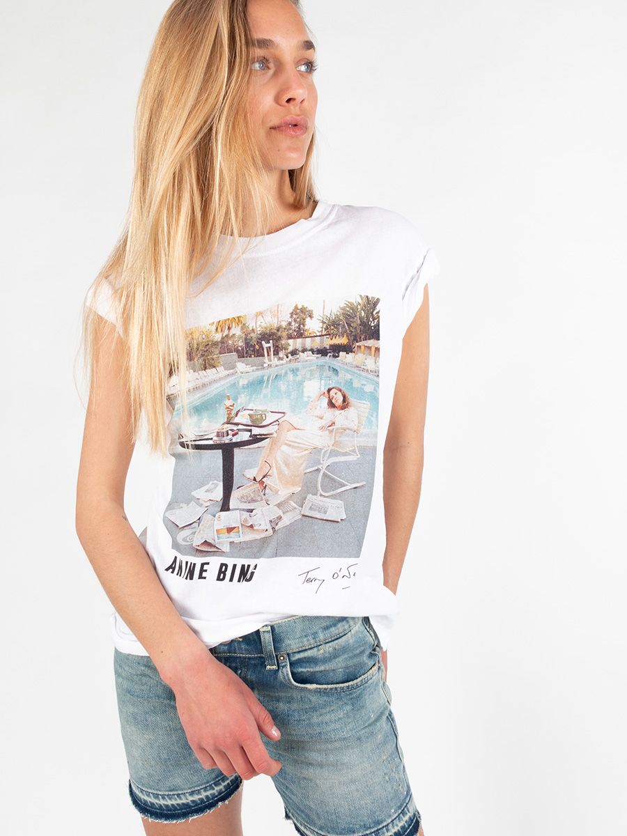 T-Shirt LILI TEE AB x TO FAYE DUNAWAY von Anine Bing