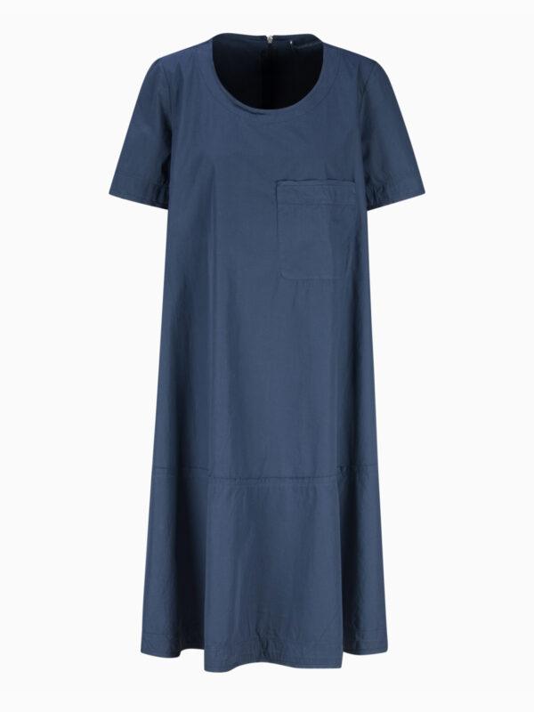 Midi-Kleid aus Popelin von TRANSIT