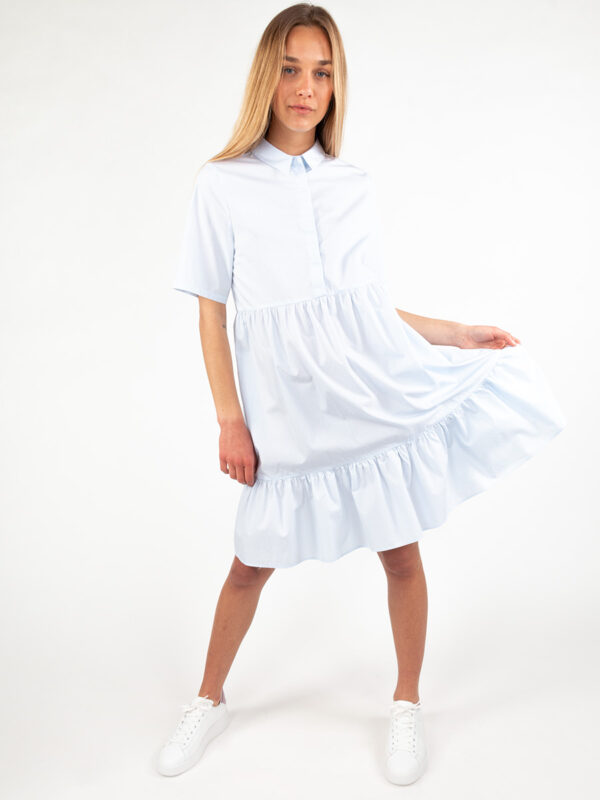 Midi-Kleid mit Hemdkragen von REYER