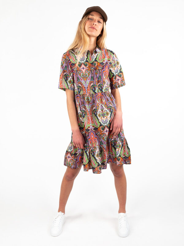 Baumwollkleid mit Print von REYER