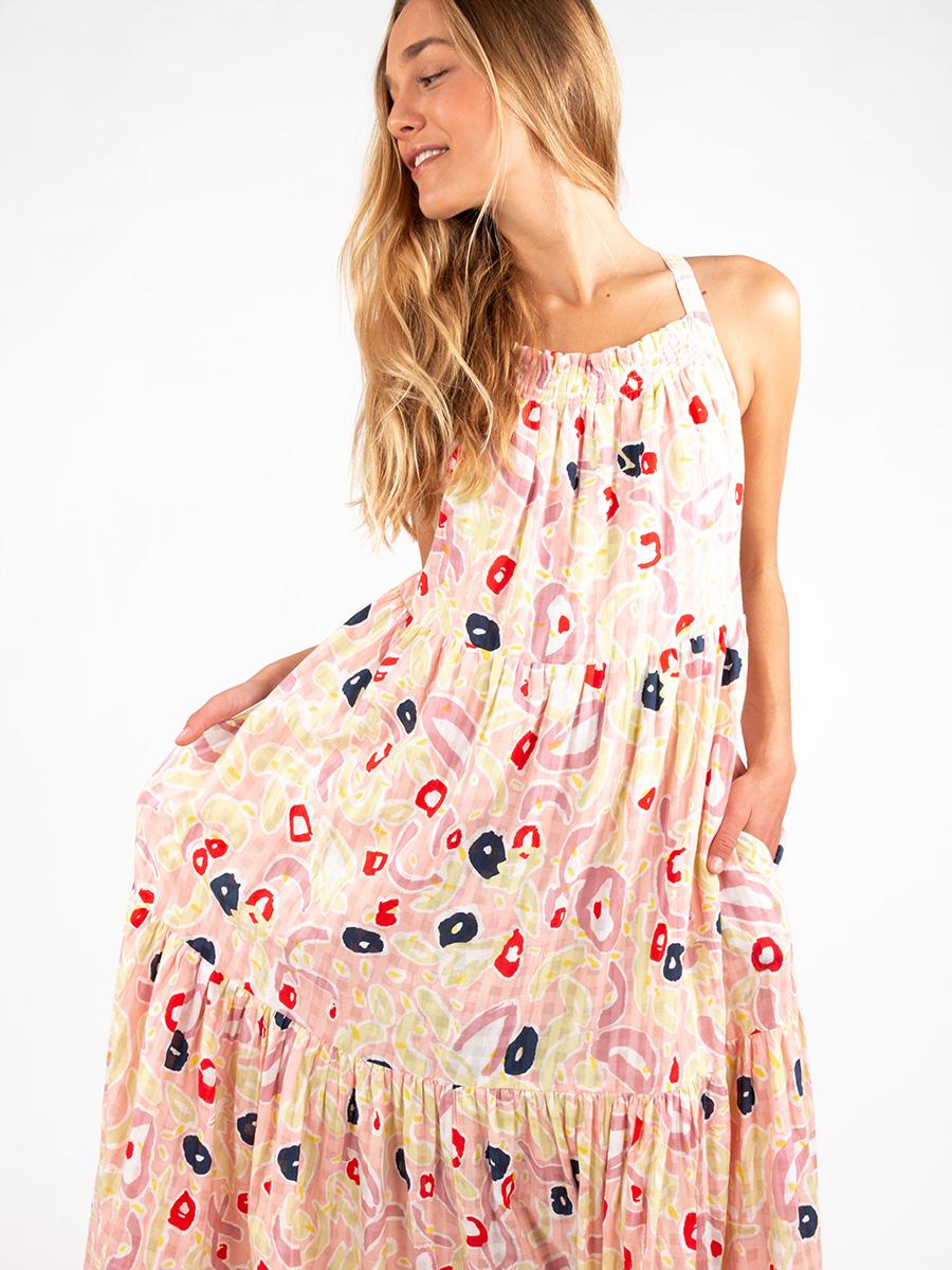 Maxi-Kleid mit Print von MII