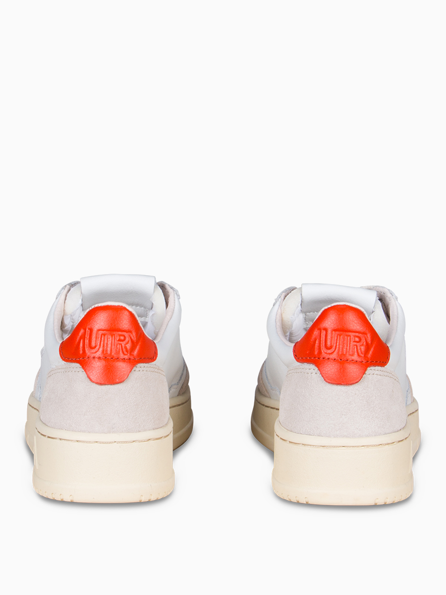 Sneaker im Vintage-Style orange von Autry