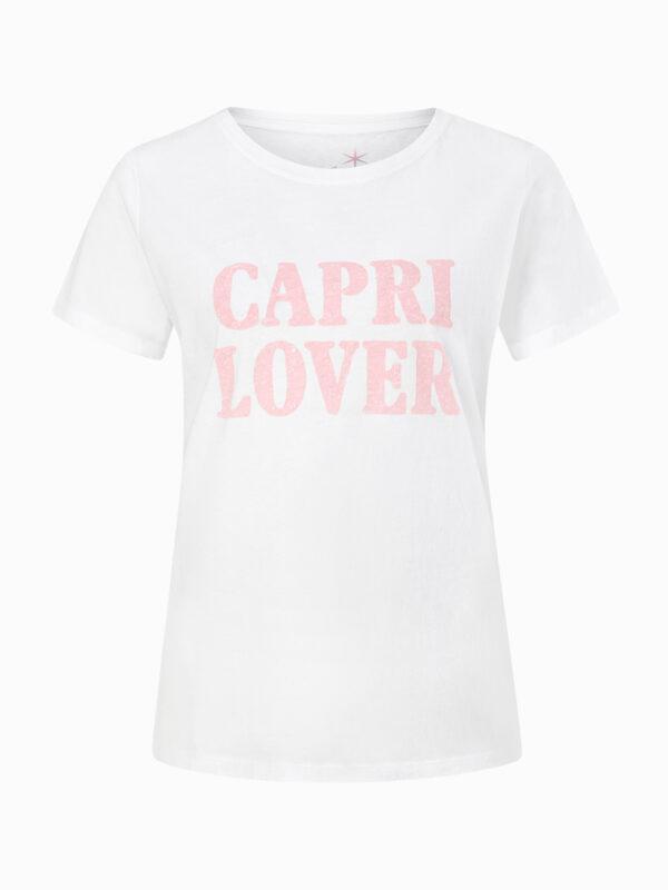 T-Shirt mit Print von Juvia