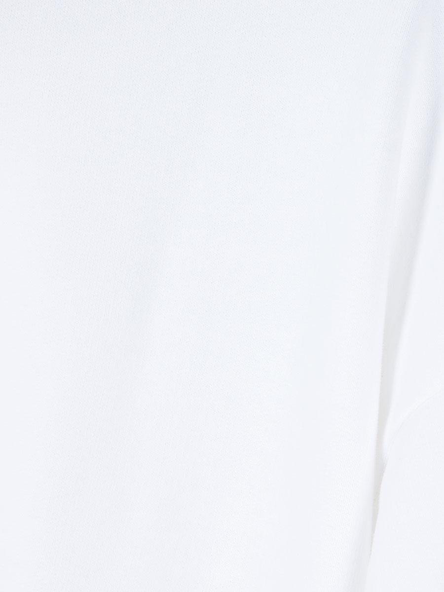 Sweatshirt mit Kapuze weiss von Juvia