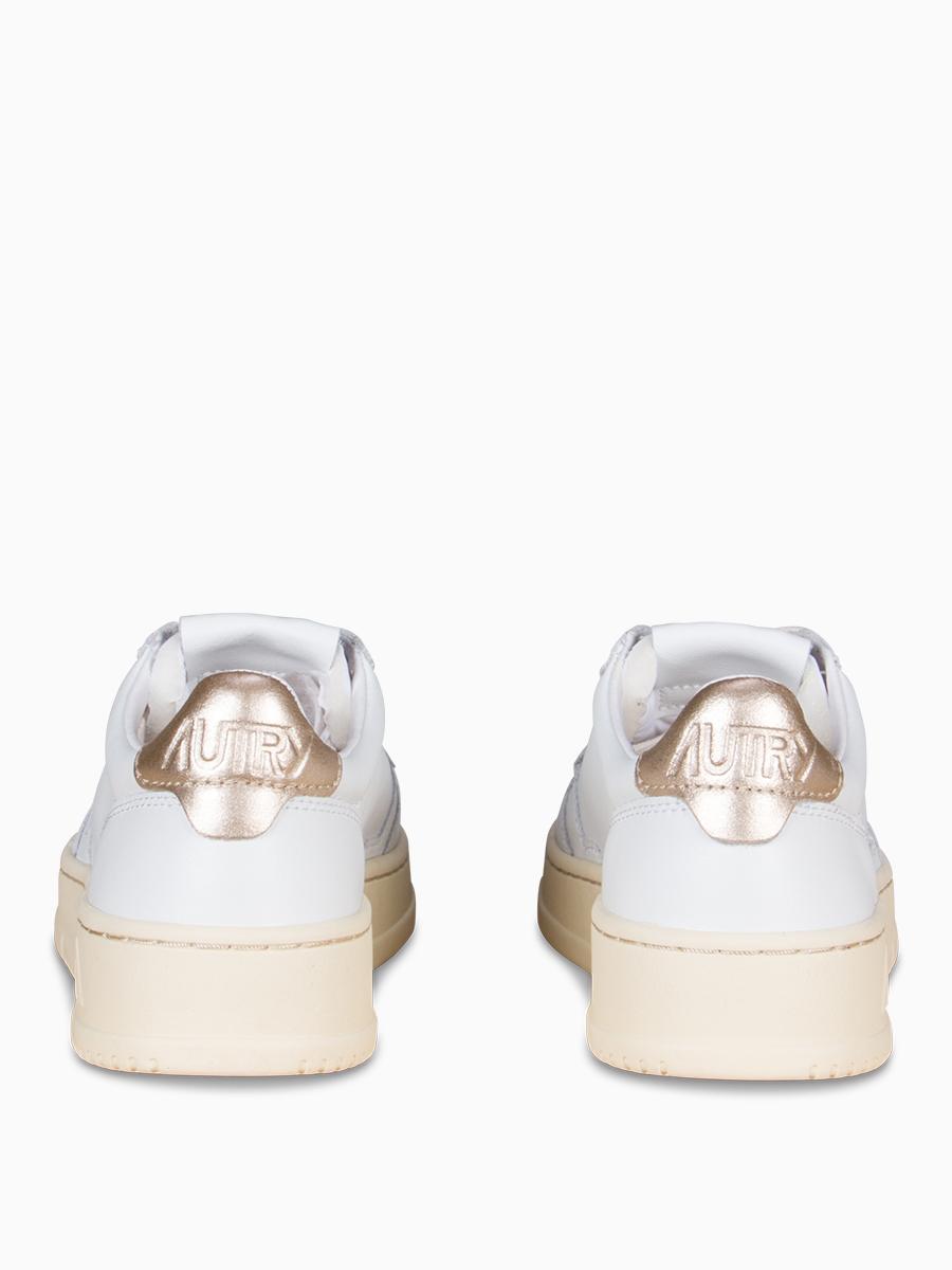 Sneaker im Vintage-Style gold von Autry