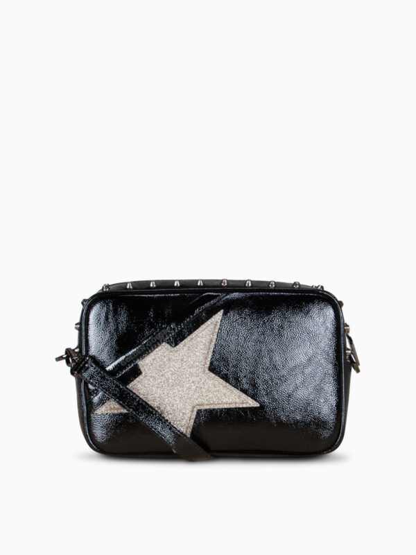 Cross-Body Bag STAR mit Glitter von GOLDEN GOOSE
