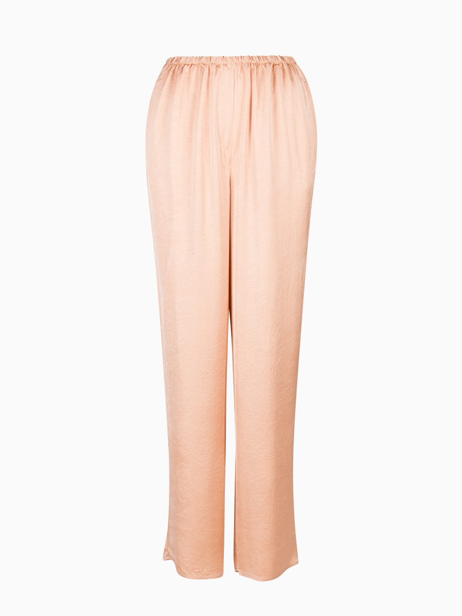Wide-Leg Satin Hose von American Vintage