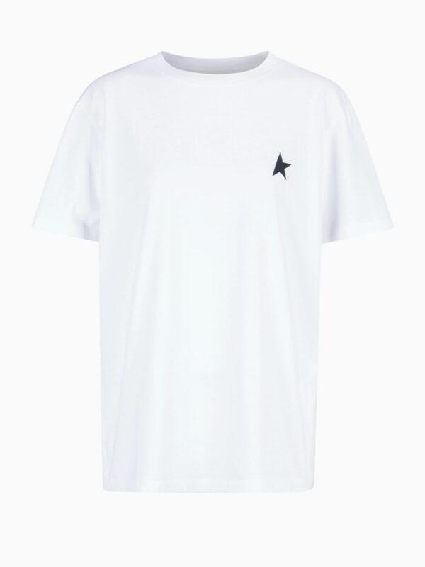 T-Shirt mit Stern-Applikation von GOLDEN GOOSE
