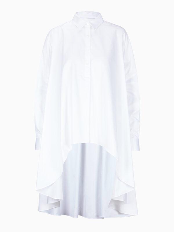 Oversize-Bluse mit Hemdkragen von CALIBAN