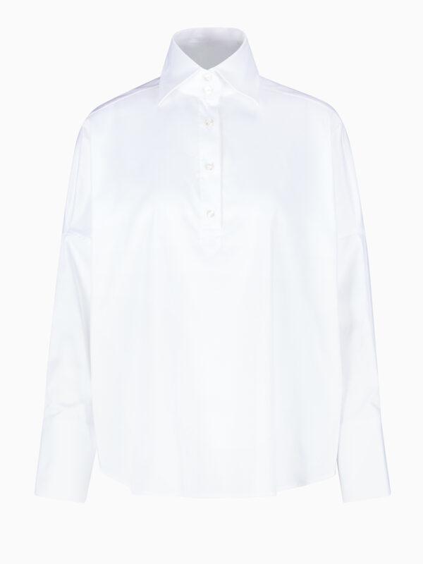 Bluse mit Hemdkragen von SOLUZIONE