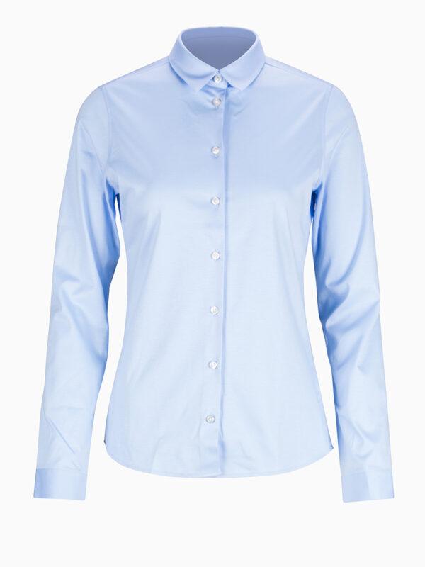 Jersey-Bluse von SOLUZIONE