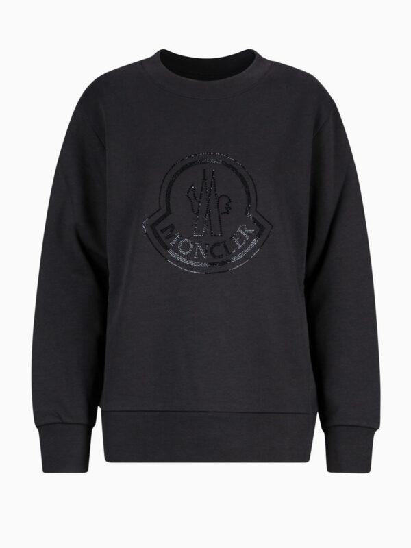 Sweatshirt mit Logo-Motiv von MONCLER