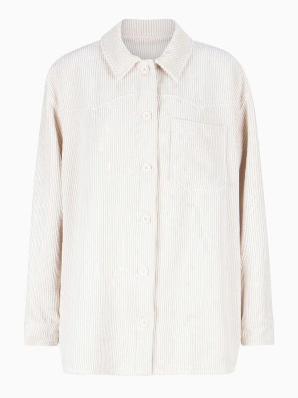 Cord-Overshirt von La Camicia
