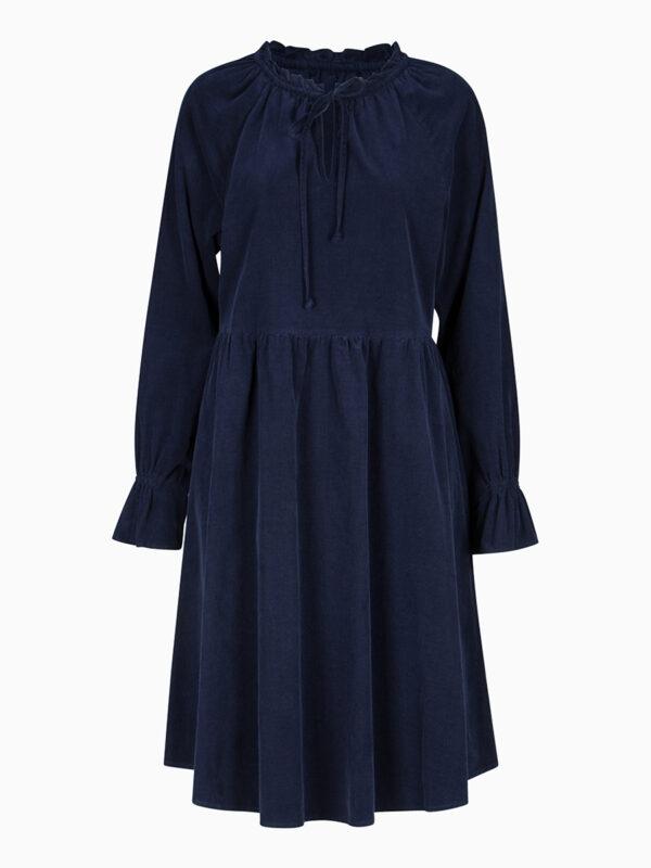 Midi-Kleid aus Cord von LA CAMICIA