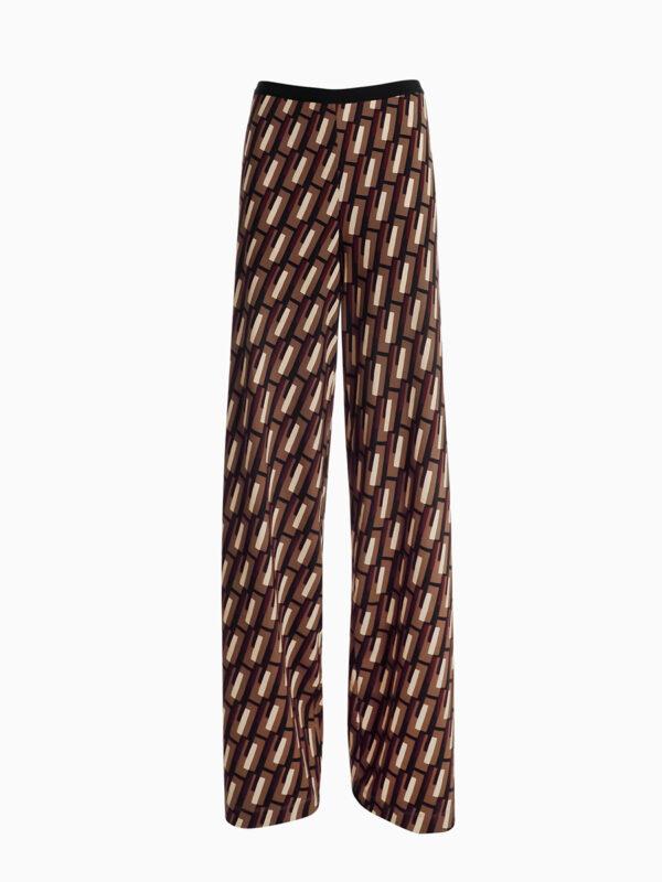 Wide-Leg Jersey-Hose STRADA von SIYU
