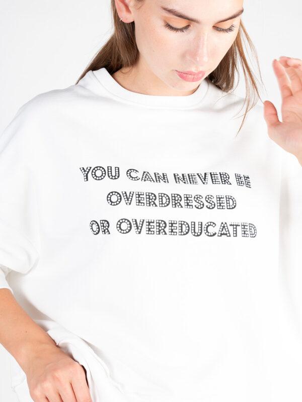 Statement Sweatshirt von Quatum Courage