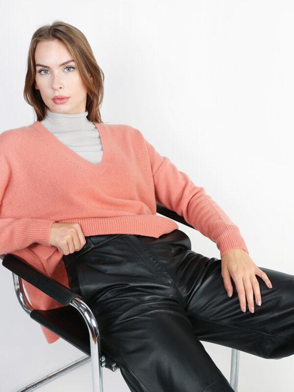 Pullover mit V-Ausschnitt von REYER