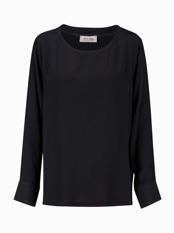 Crêpe-Bluse ECLISSI von Her Shirt