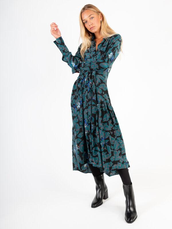 Maxi-Dress aus Seide von AnAn Londree