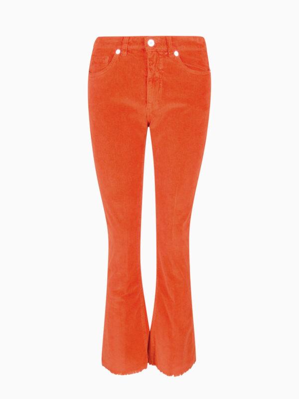 Cord-Hose TRUMPET orange von Nine in the Morning