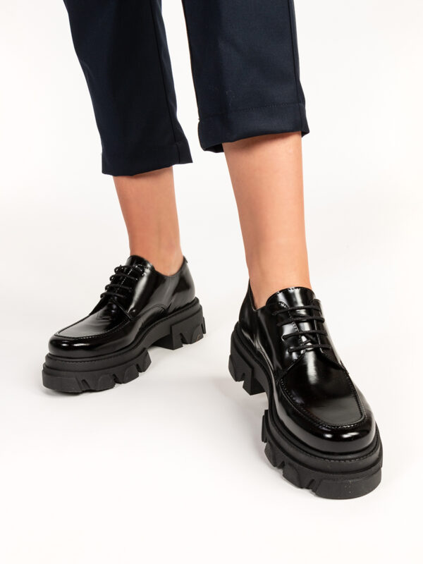 Loafer ULLY schwarz von Shoe biz Copenhagen